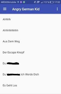 Angry German Kid Soundboard - náhled