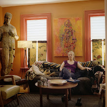 Photo: title:Cynnie Gaasch, Buffalo, New York date: 2013 relationship: friends, art, met at Hampshire College years known: 20-25