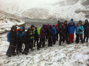Photo: Winter Walking Festival living up to it's name.