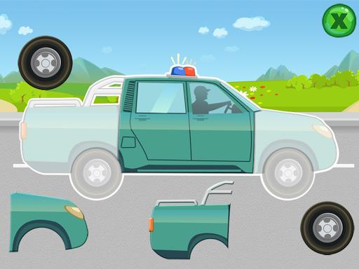 玩解謎App|车辆!儿童拼图免費|APP試玩