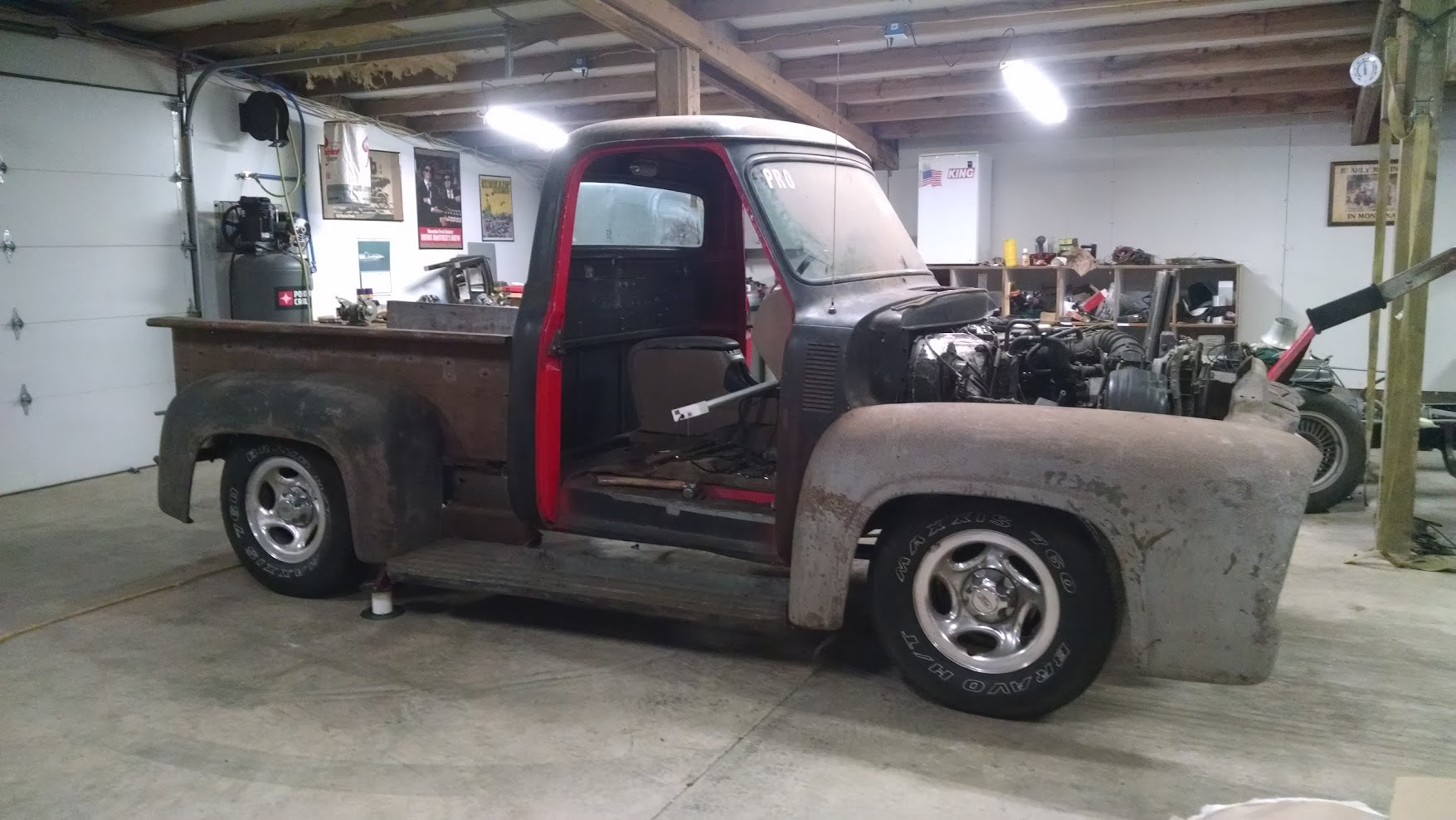 Another F100 body swap | Ford Explorer and Ford Ranger ...