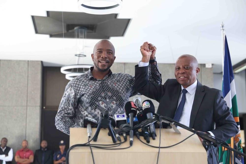 Mmusi Maimane and Herman Mashaba to go their separate ways - Business Day