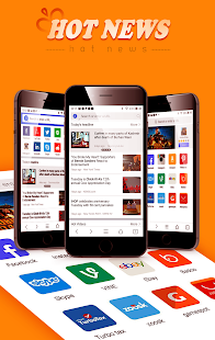Mi Browser-news,video,download- screenshot thumbnail