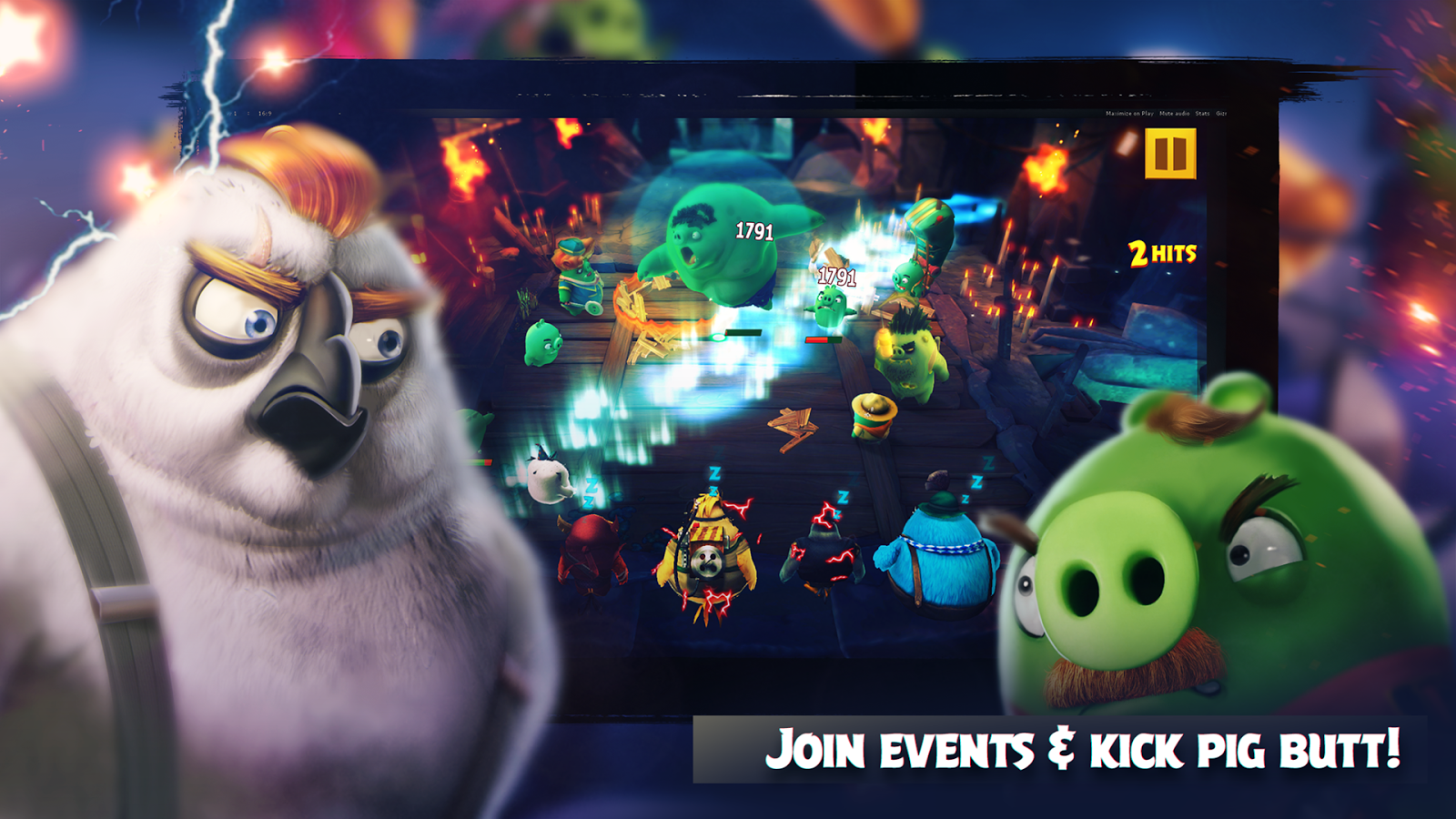 Screenshots of Angry Birds Evolution for iPhone