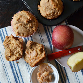 Quick, Easy & Moist Whole Wheat Muffins.