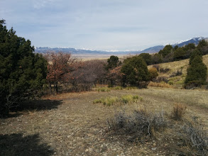 Photo: Looking NW up the valley from my campsite.