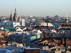 Vue sur les toits de la ville
