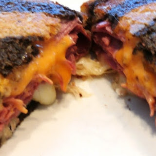 The Classic Reuben Sandwich.