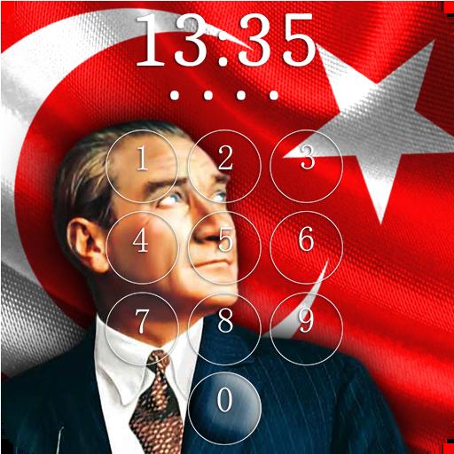 Mustafa Kemal Ataturk Lock Screen & Wallpaper