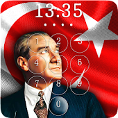 Mustafa Kemal Ataturk Lock Screen & Wallpaper
