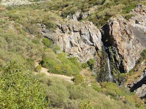 Photo: Abajo el mirador de las cascadas del arroyo Mazobres