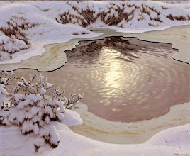 "Photo: Gustaf Fjæstad, ""Sole invernale"" (1902)"