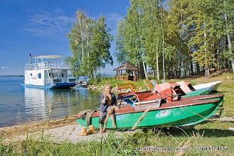 Photo: Территория базы. Прокат катамаранов и лодок