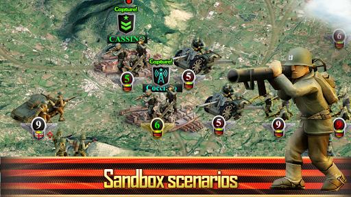 Frontline: Western Front - WW2 Strategy War Game screenshots 15