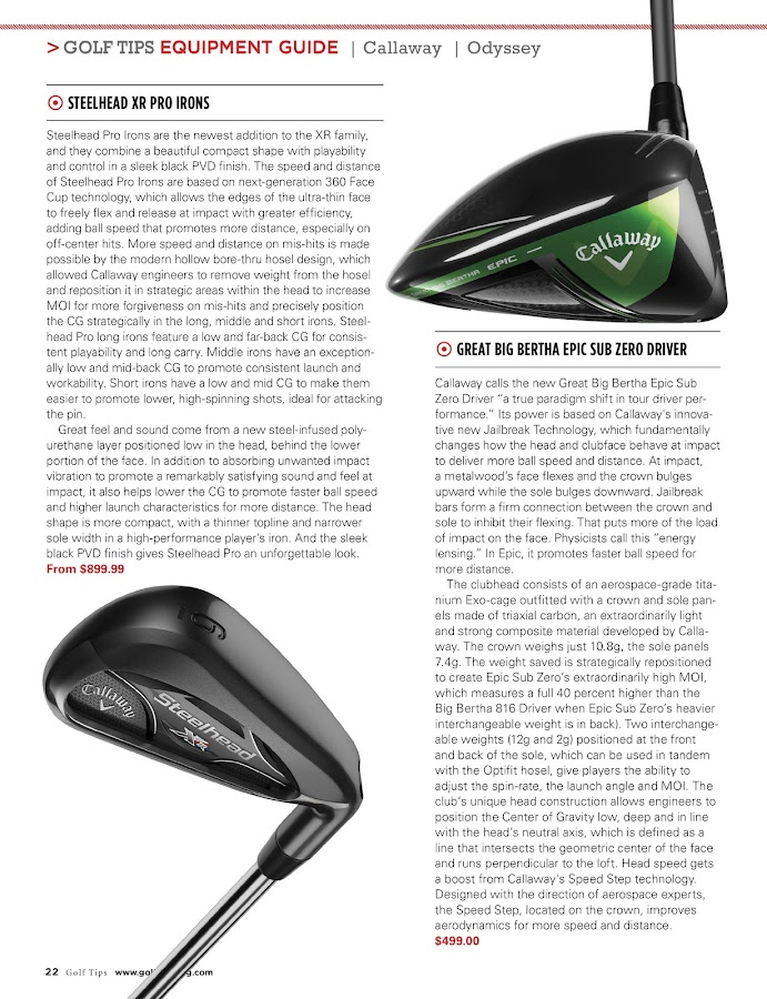 Golf Tips- screenshot