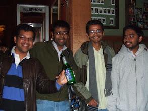 Photo: Ram, Shankar, Arnab, and Partha