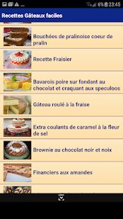 簡単なケーキのレシピ