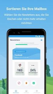 Cleanfox - Unerwünschte Mails abmelden und löschen Screenshot