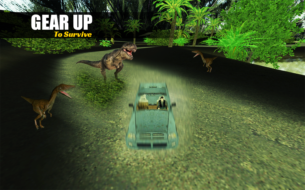 Dinosaur Safari Hunter Game 3D- screenshot