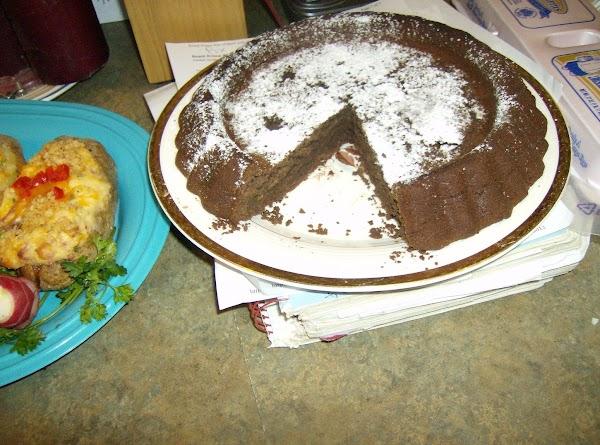 Gluten Free Chic Pea Chocolate cake