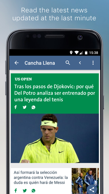 Argentine Sports- screenshot