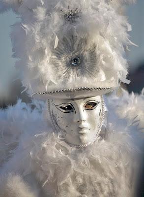 Maschera veneziana di vagero