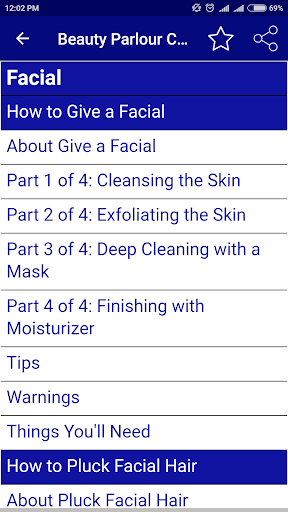Beauty Parlour Course by Shree Madhava Labs (Google Play, United