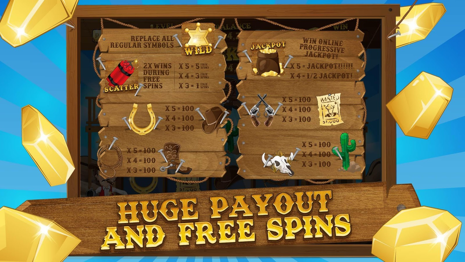 New Slots 2017 - Lucky Horseshoe Casino Slots- screenshot