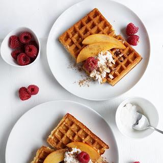 Fluffy Vegan Breakfast Waffles