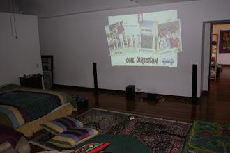 Photo: Concert venue is ready!
