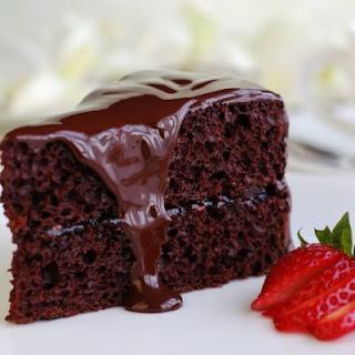 Satin & Moist Chocolate Cake.