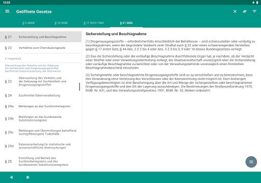 Lawdroid AT – Österreichische Gesetze und EU-Recht screenshot 11