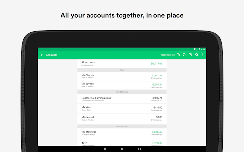 Mint: Budget, Bills, Finance- thumbnail ng screenshot