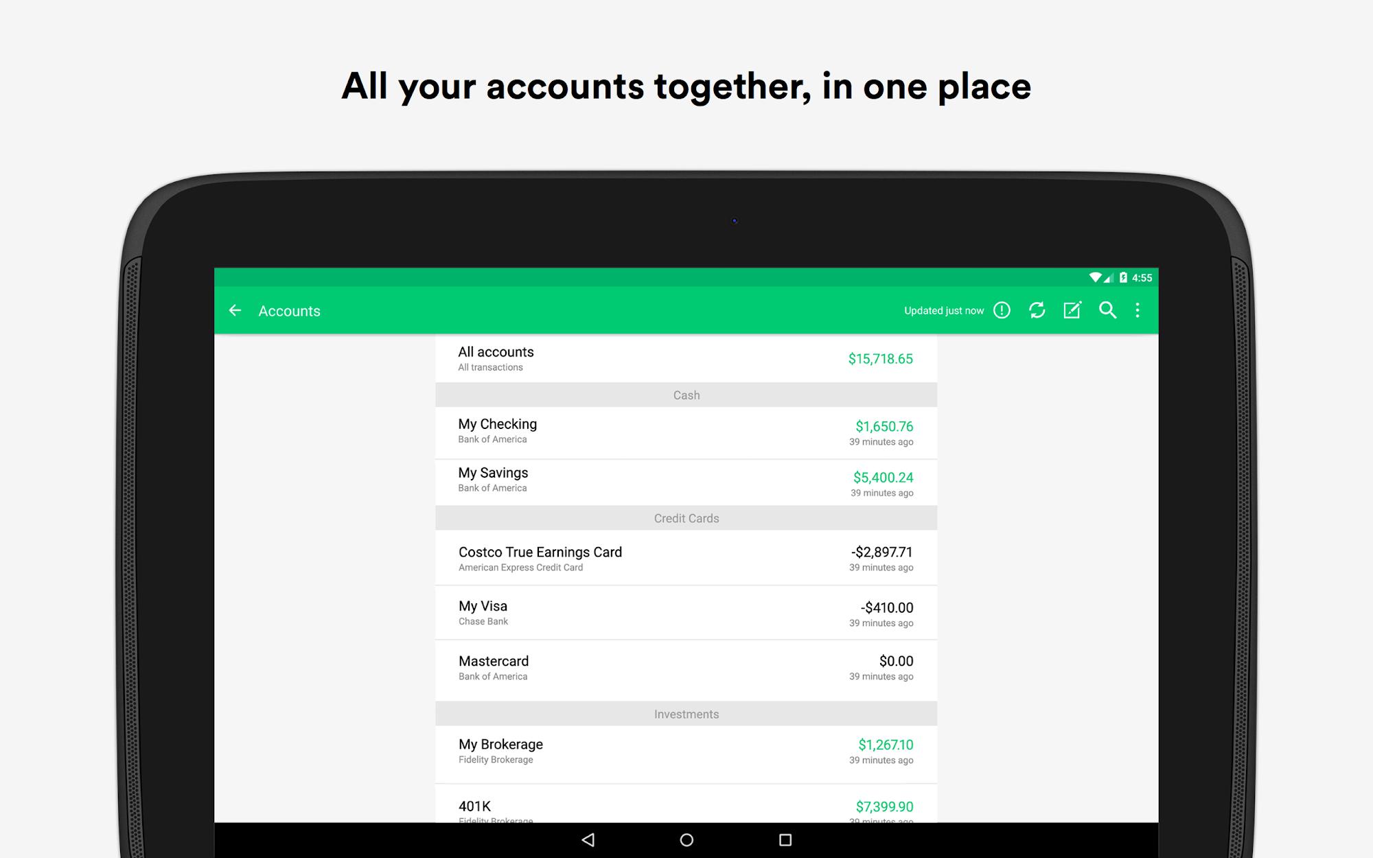Mint: Personal Finance & Money screenshot #8