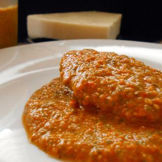 Tomato Pesto with Basil and Pine Nuts Recipe