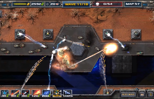 Du00e9fense - Defense legends 2  captures d'u00e9cran 2