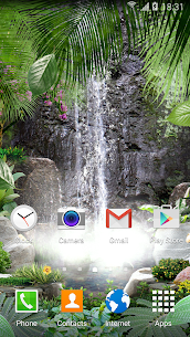 3D Waterfall Live Wallpaper 1.0.7 Mod + Data for Android 1
