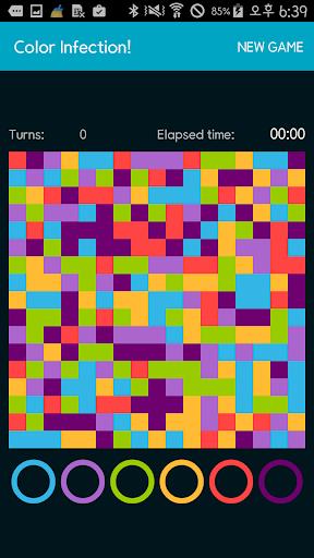 Color Infection flood puzzle