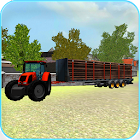 Tractor 3D: Log Transport icon
