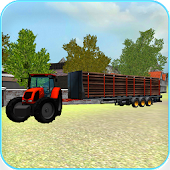 Tractor 3D: Log Transport