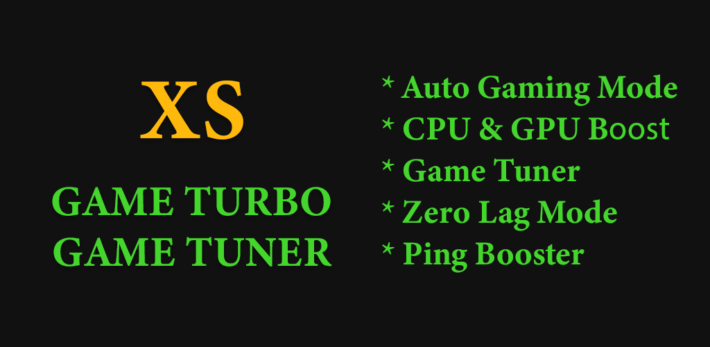 Download Game Booster XS - Game Turbo, Game Tuner FPS Meter APK latest  version 1 0 5 for android devices