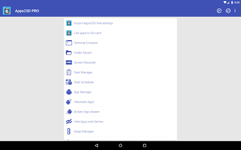 Apps2SD PRO: All in One Tool v9.4 Mod APK 9