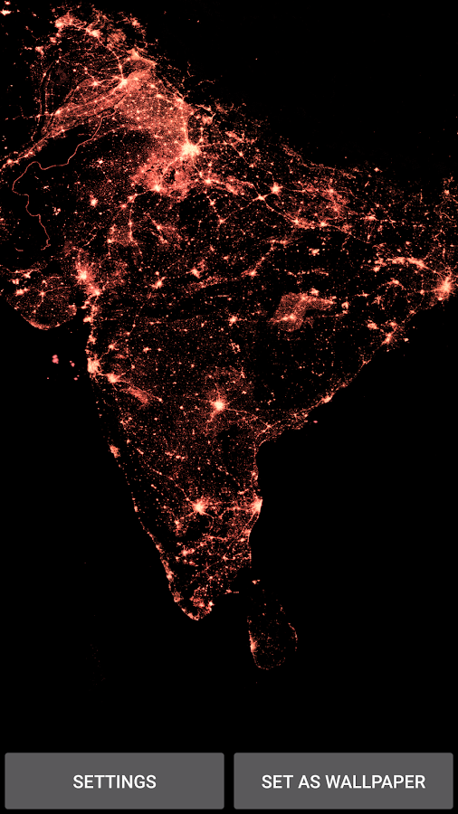 India from Space- screenshot