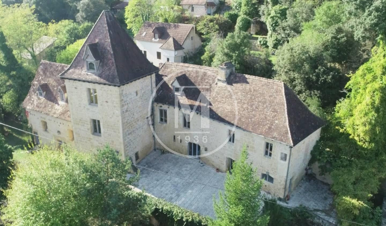 House with terrace Sarlat-la-Canéda