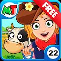 My Town : Farm Life Animals Game icon
