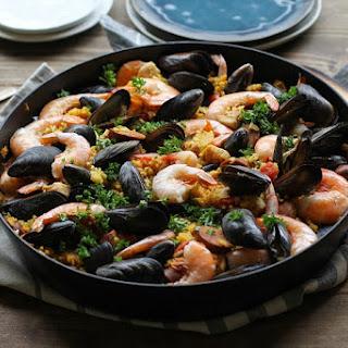 Seafood Paella Turmeric Recipes