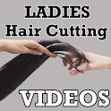 Ladies Hair Cutting VIDEOs icon
