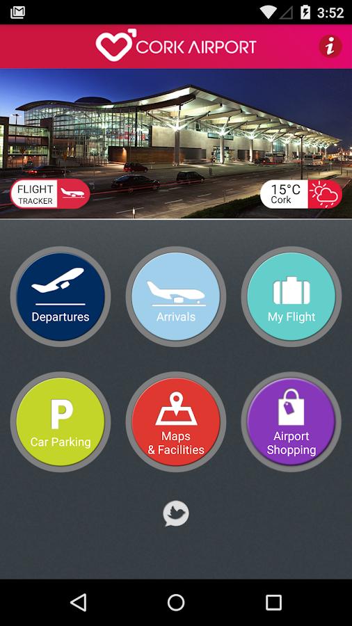 Cork Airport (Official)- screenshot