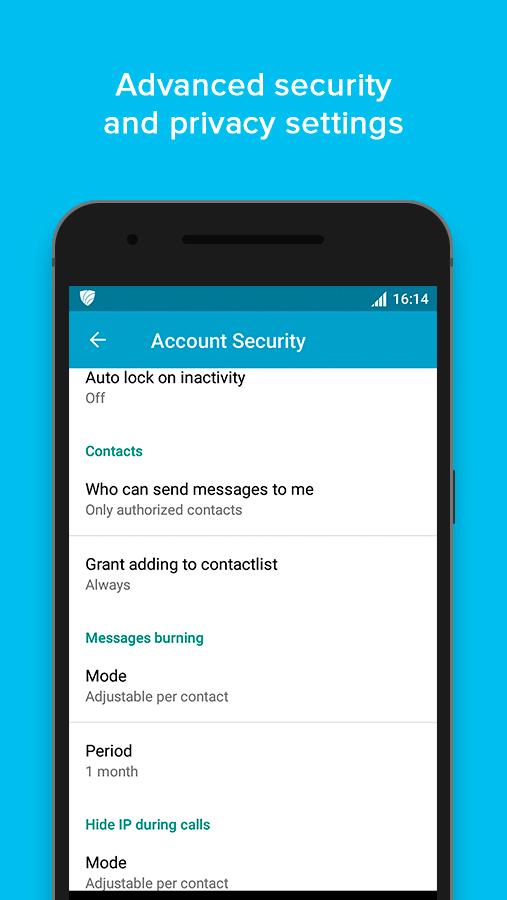 VIPole Secure Messenger screenshot #5