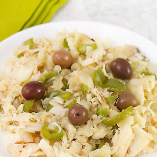 Bacalao Salad – Codfish Salad